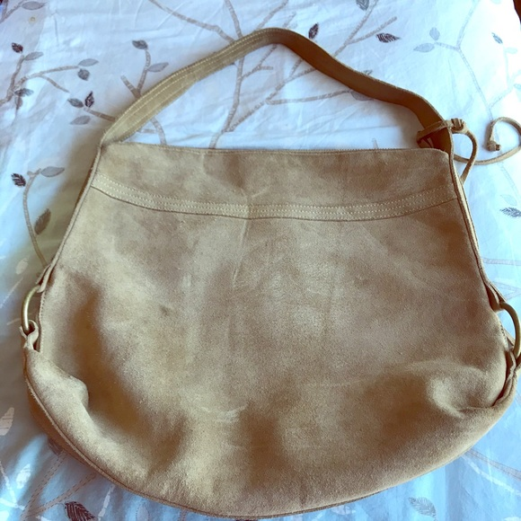 Banana Republic Handbags - Suede leather Banana Republic purse